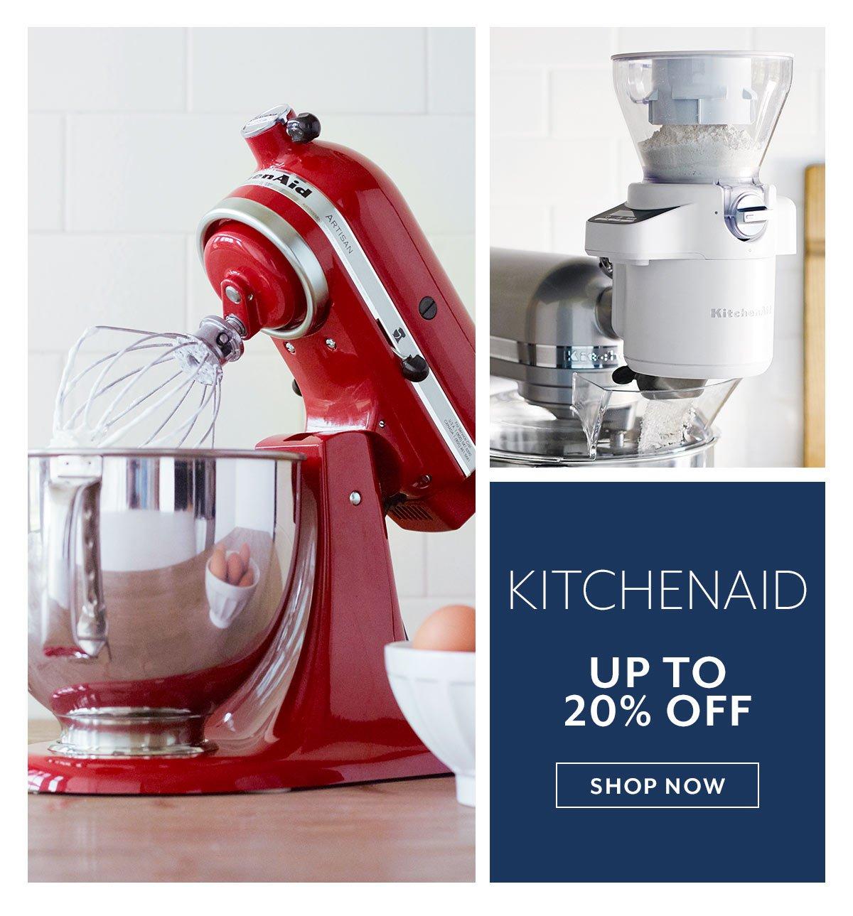 KitchenAid up to 20% off