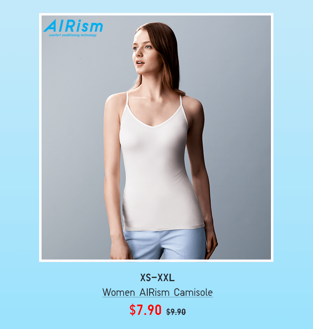 BODY7 - WOMEN AIRISM CAMISOLE