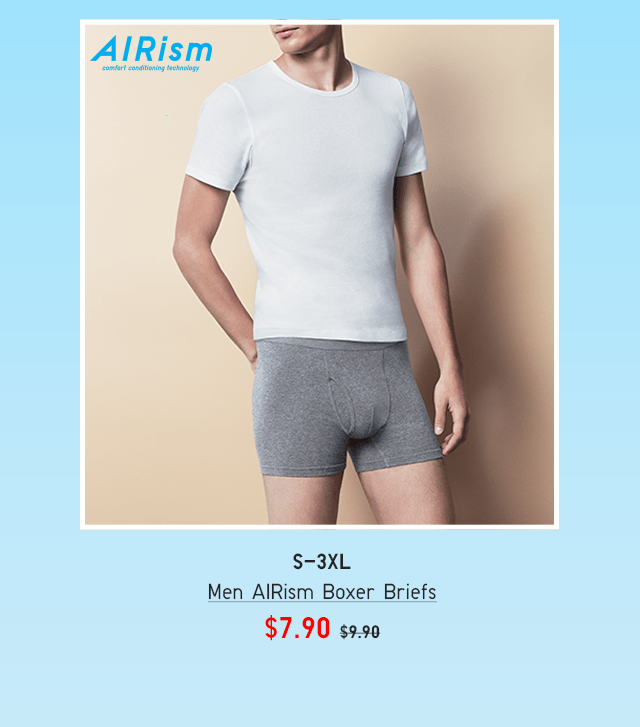 BODY10 - MEN AIRISM BOXER BRIEFS