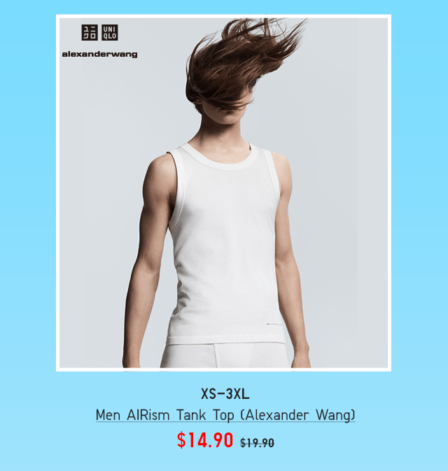 BODY9 - MEN AIRISM TANK TOP (ALEXANDER WANG)
