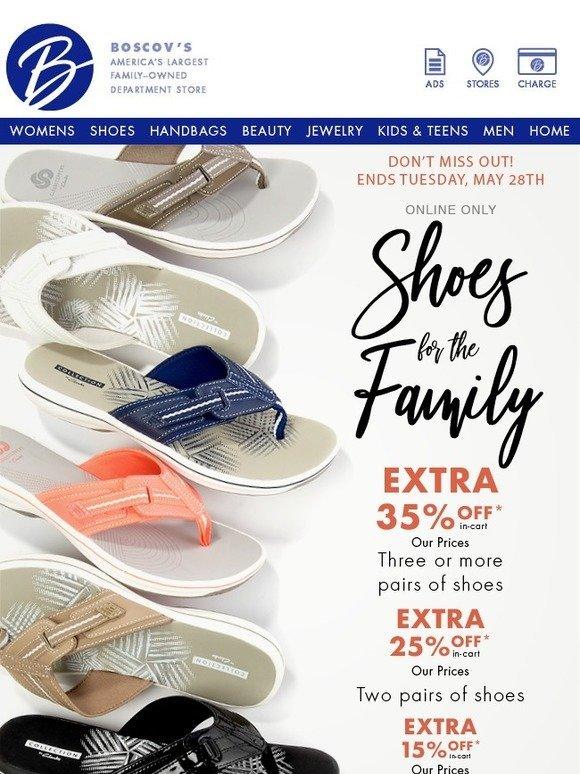 Shop Our EXTRA Discount Shoe Sale