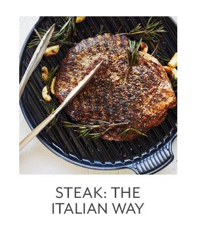 Steak: The Italian Way