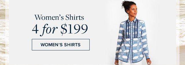 Women's shirts 4 for $199