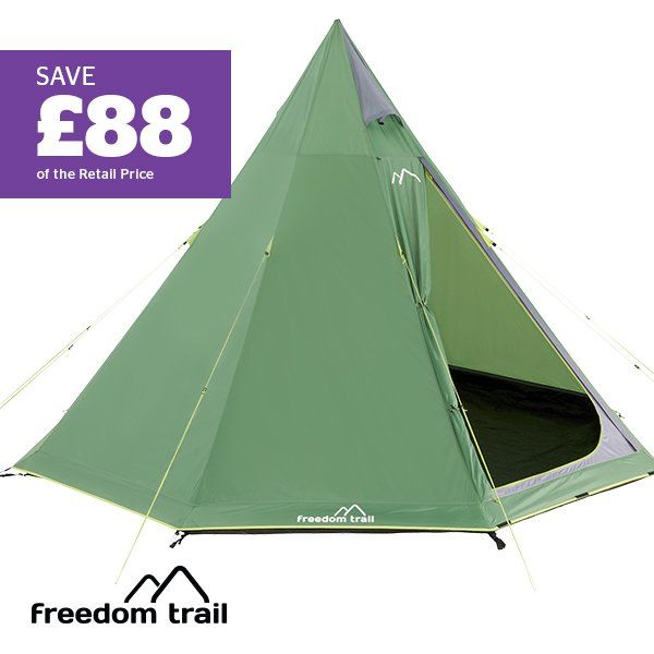 FREEDOMTRAIL Apache 6 Tipi Tent