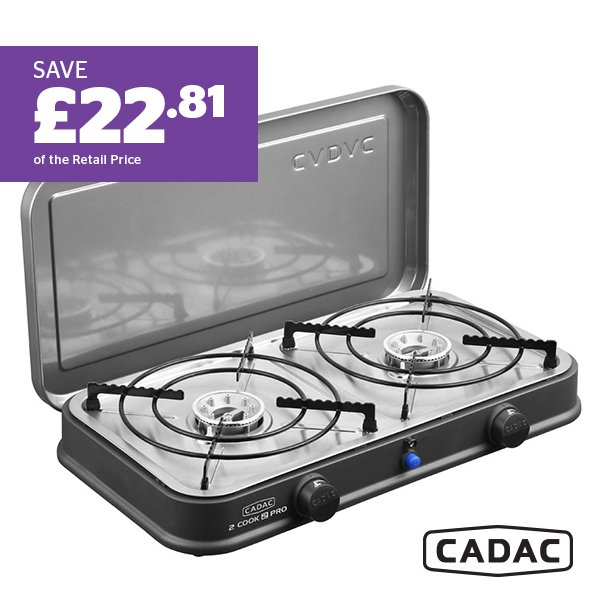 CADAC2-Cook 2 Pro Deluxe Stove