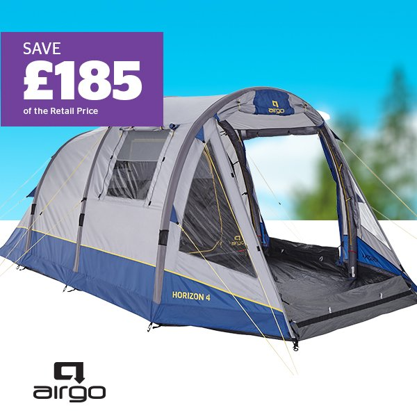 AIRGO Solus Horizon 4 Inflatable 4 Person Tent
