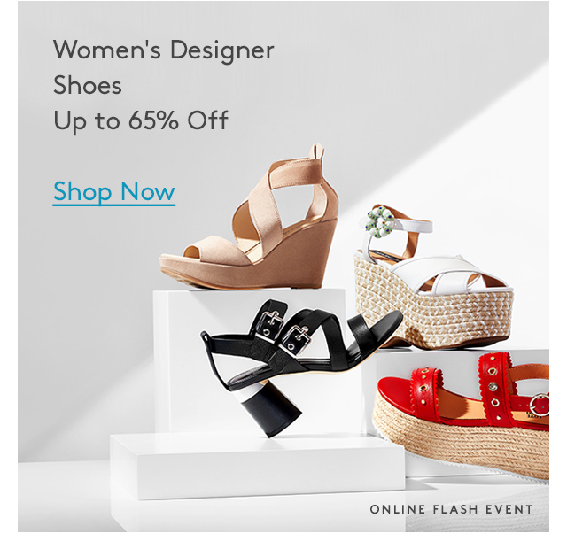 Women's Designer Shoes | Up to 65% Off | Shop Now | Online Flash Event