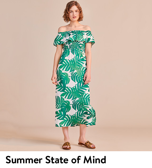 Summer state of mind: women's dresses.