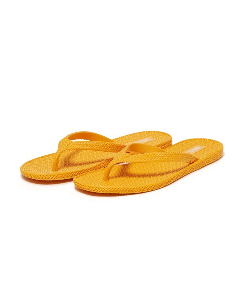 Braided Flip Flop - Yellow Orange