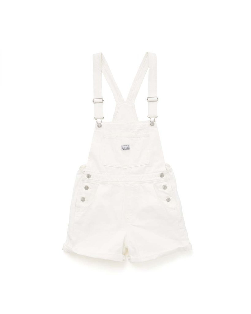 Vintage Shortall - Clean Sweep White Denim