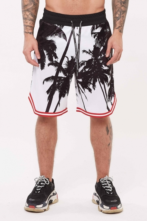 Nothing Palm Basketball Short