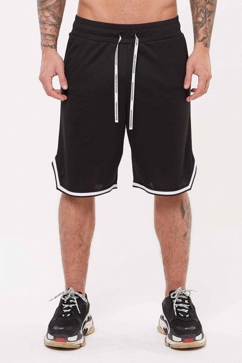 Nothing Black Basketball Short