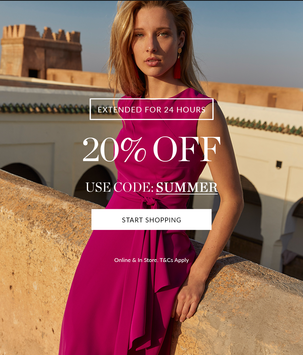Extended for 24 Hours   Summer Event   20% Off   Shop Now