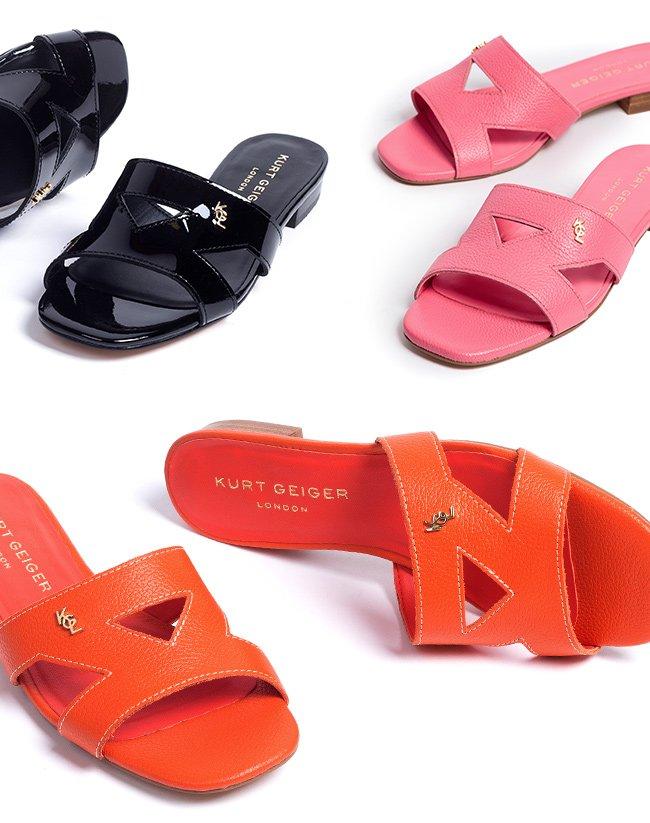 Kurt Geiger: 20% off Odina: the sandal
