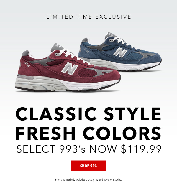 Joe's New Balance Outlet: 1 More Day l 993 Exclusives from