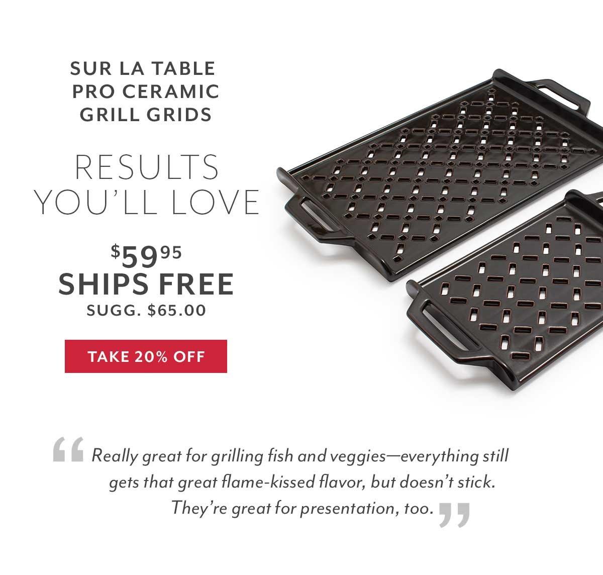 Sur La Table Grill Grids