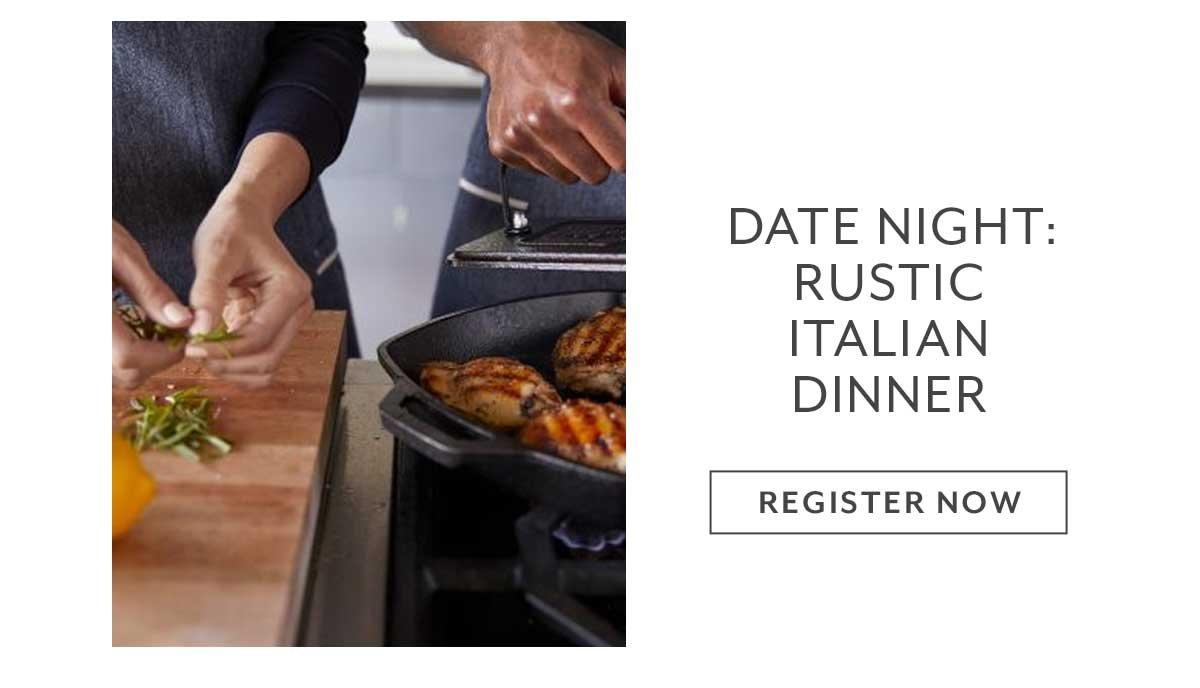 Date Night: Rustic Coastal Cooking