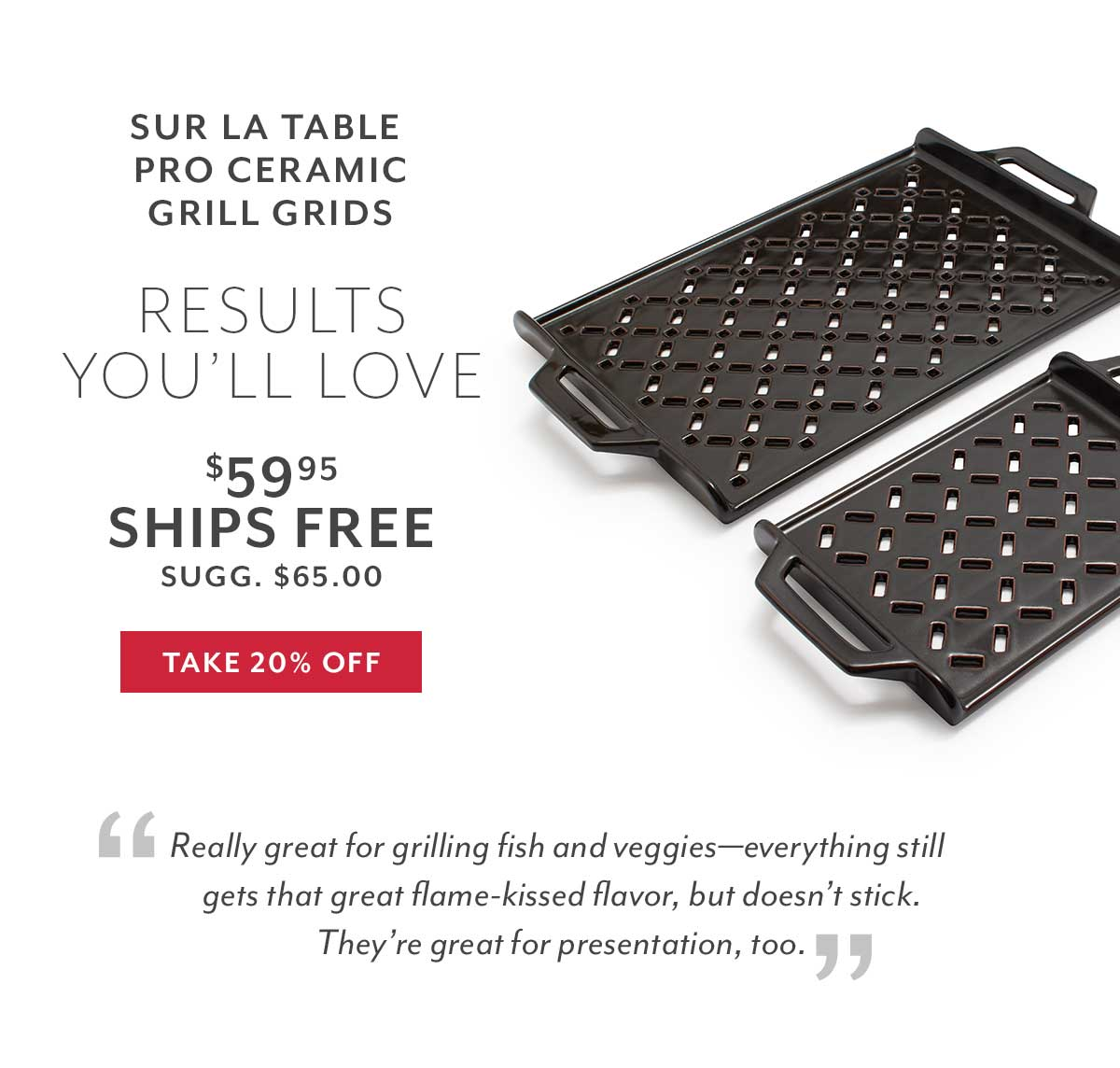 Sur La Table Grill Grids