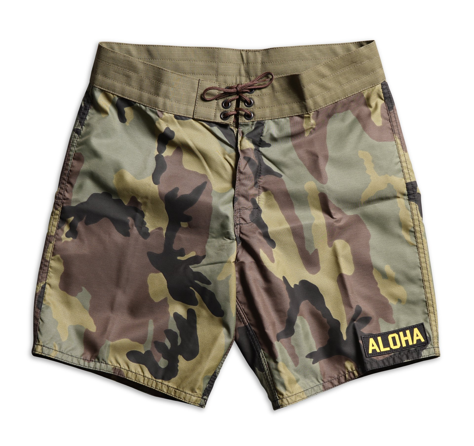 0a718ee33d 311 Limited-Edition Tropical Mission Board Shorts - Woodland Camo
