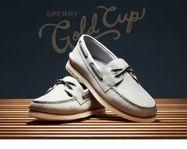 Sperry Gold Cup Shoe