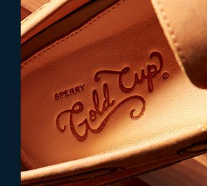 Sperry Gold Cup interior sole