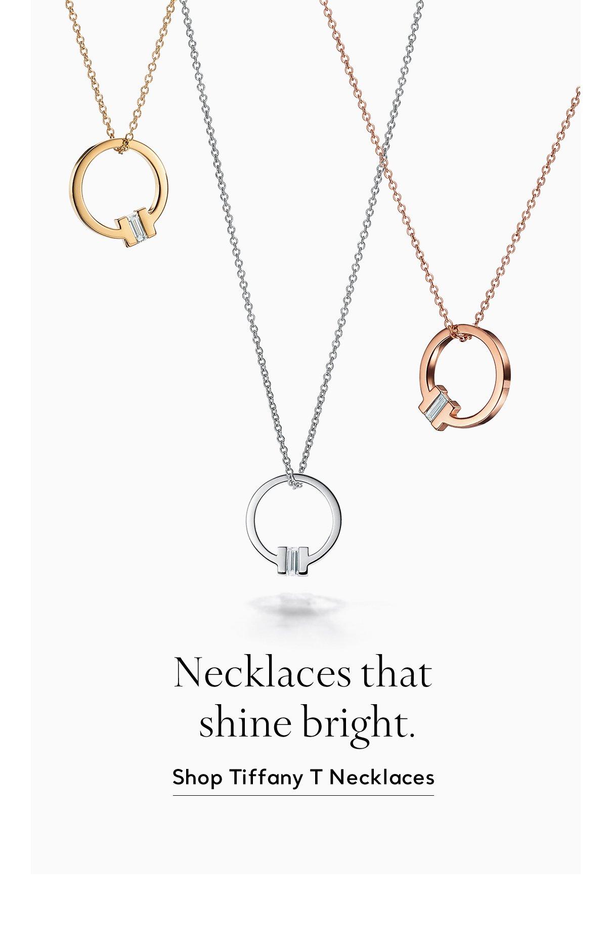 Shop Tiffany T Necklaces
