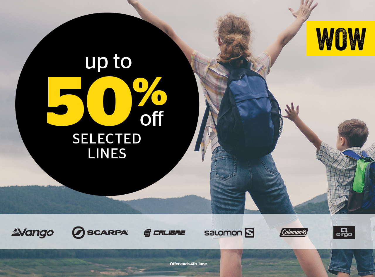 WOW Deals - up to 50% off selected lines