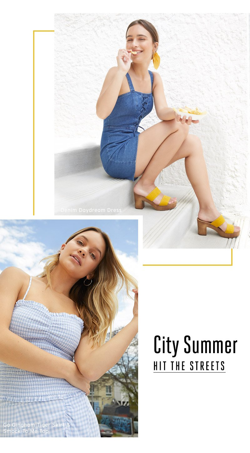 City Summer. Hit the streets,