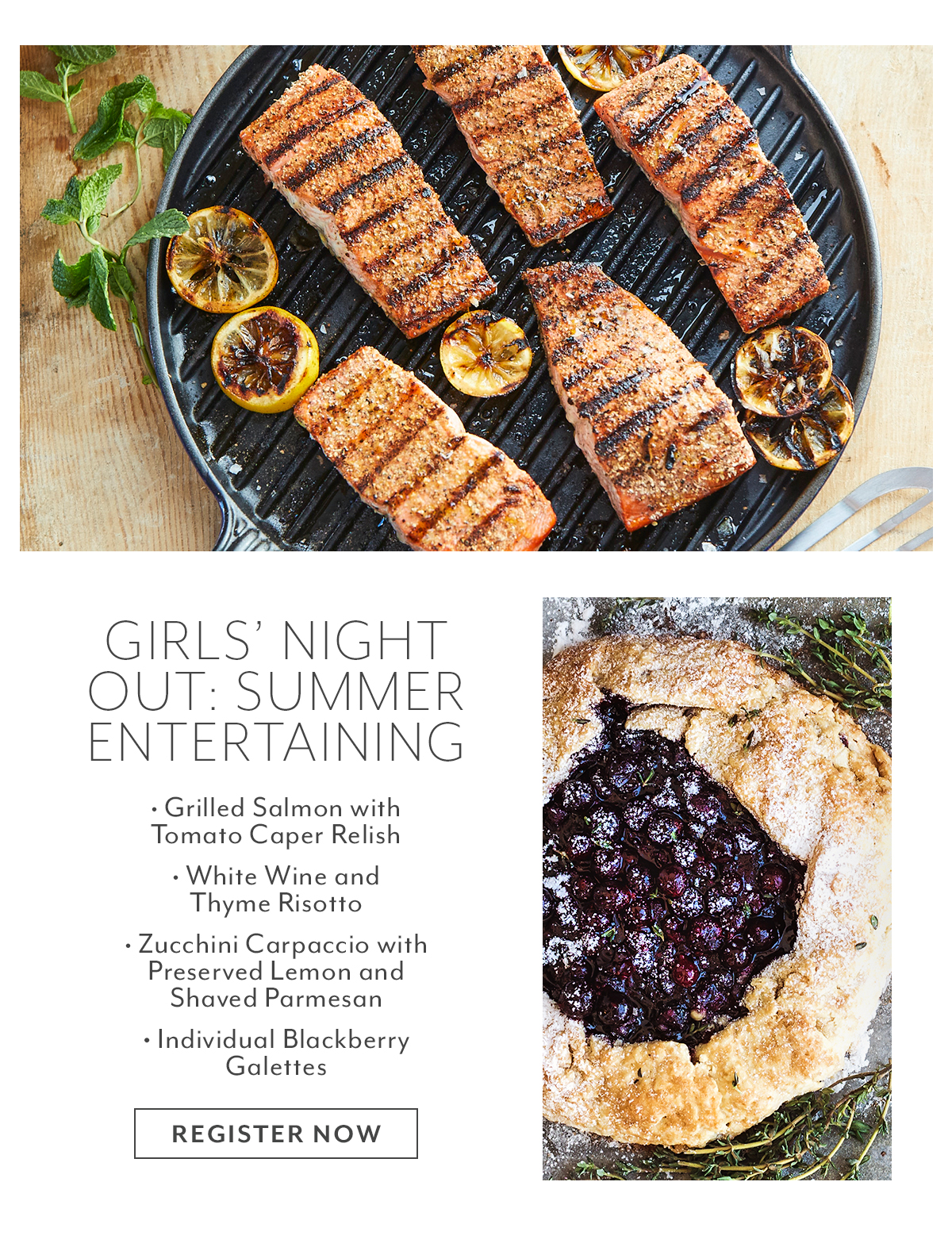 Class - Girl's Night Out • Summer Entertaining
