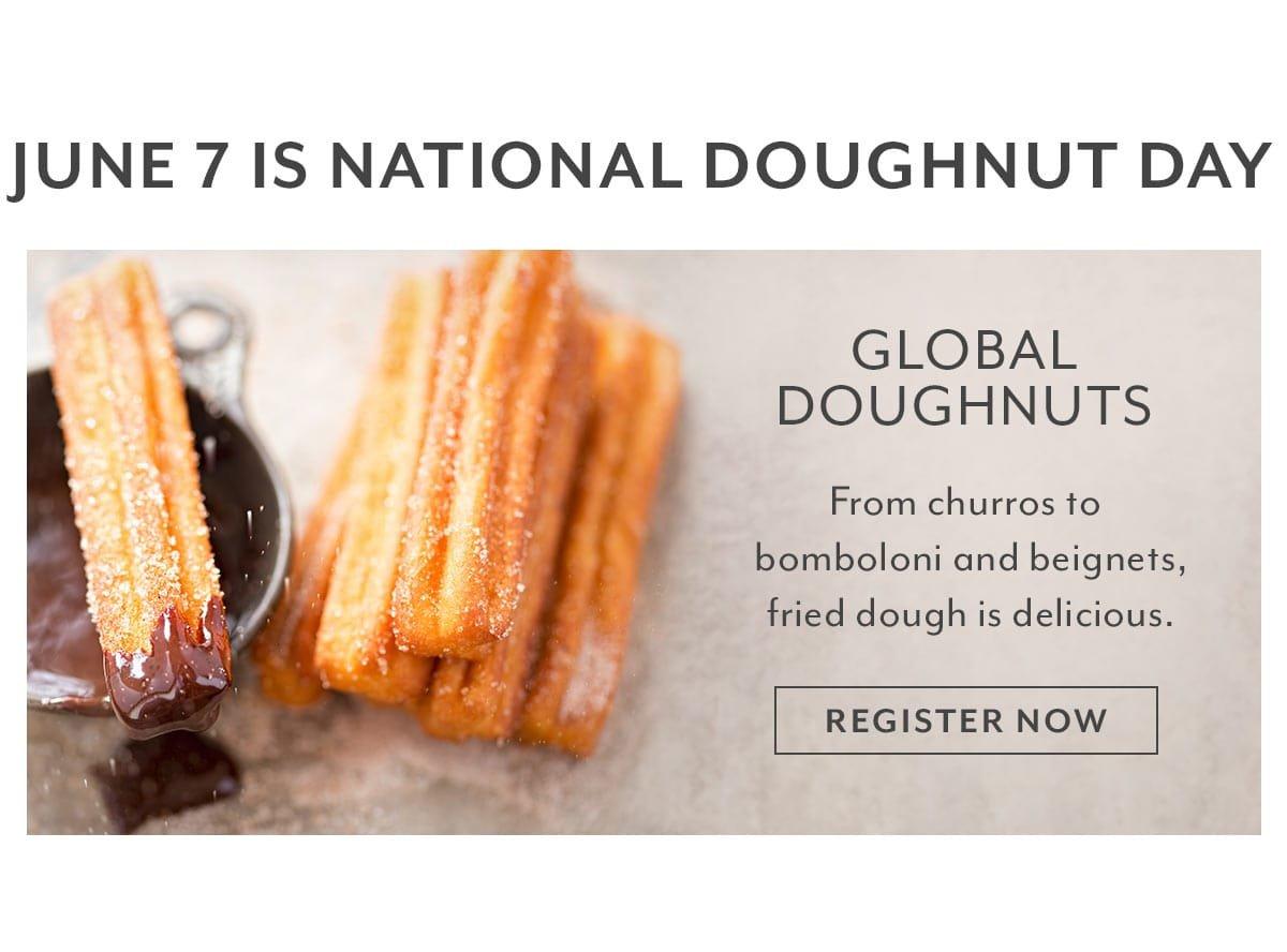 Class - Global Doughnuts