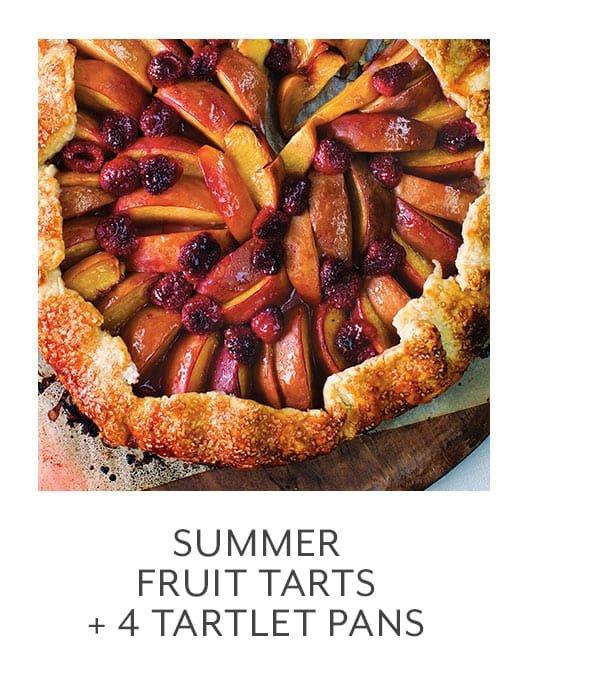 Class - Summer Fruit Tarts + 4 Tartlet Pans