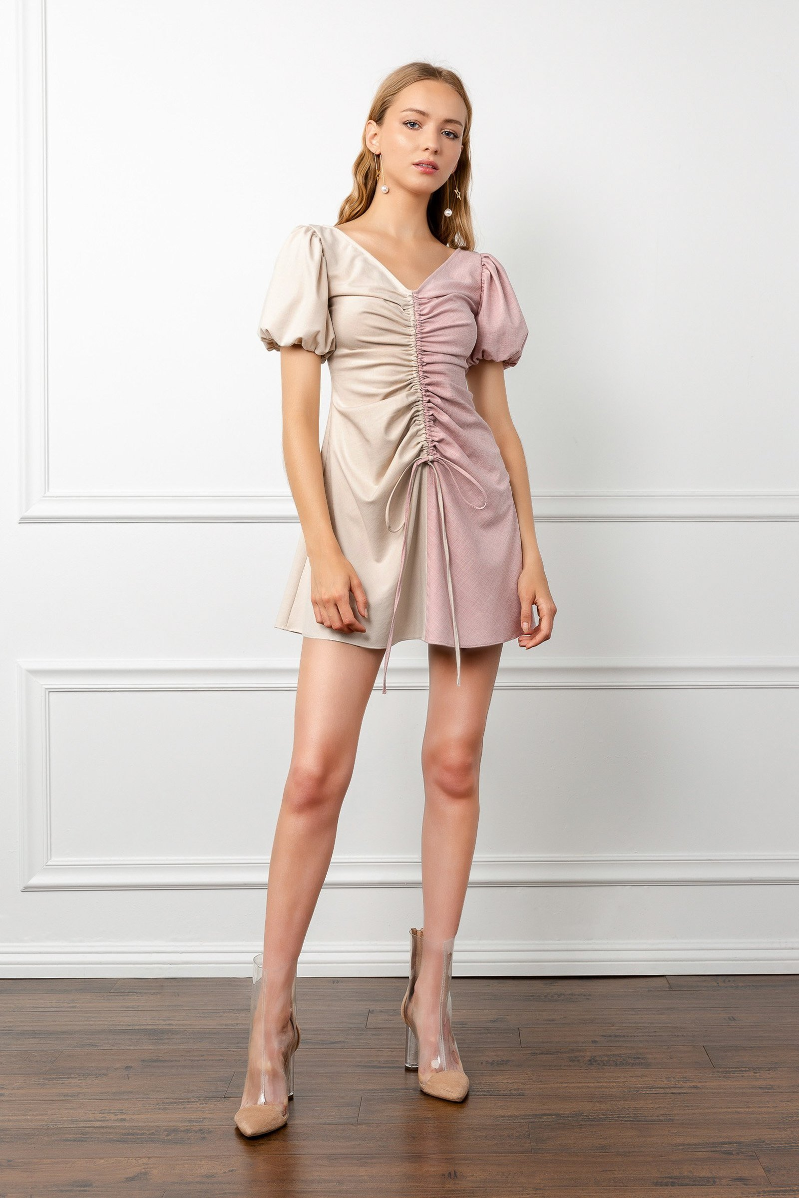 Image of TWO TONED TAMMY DRESS