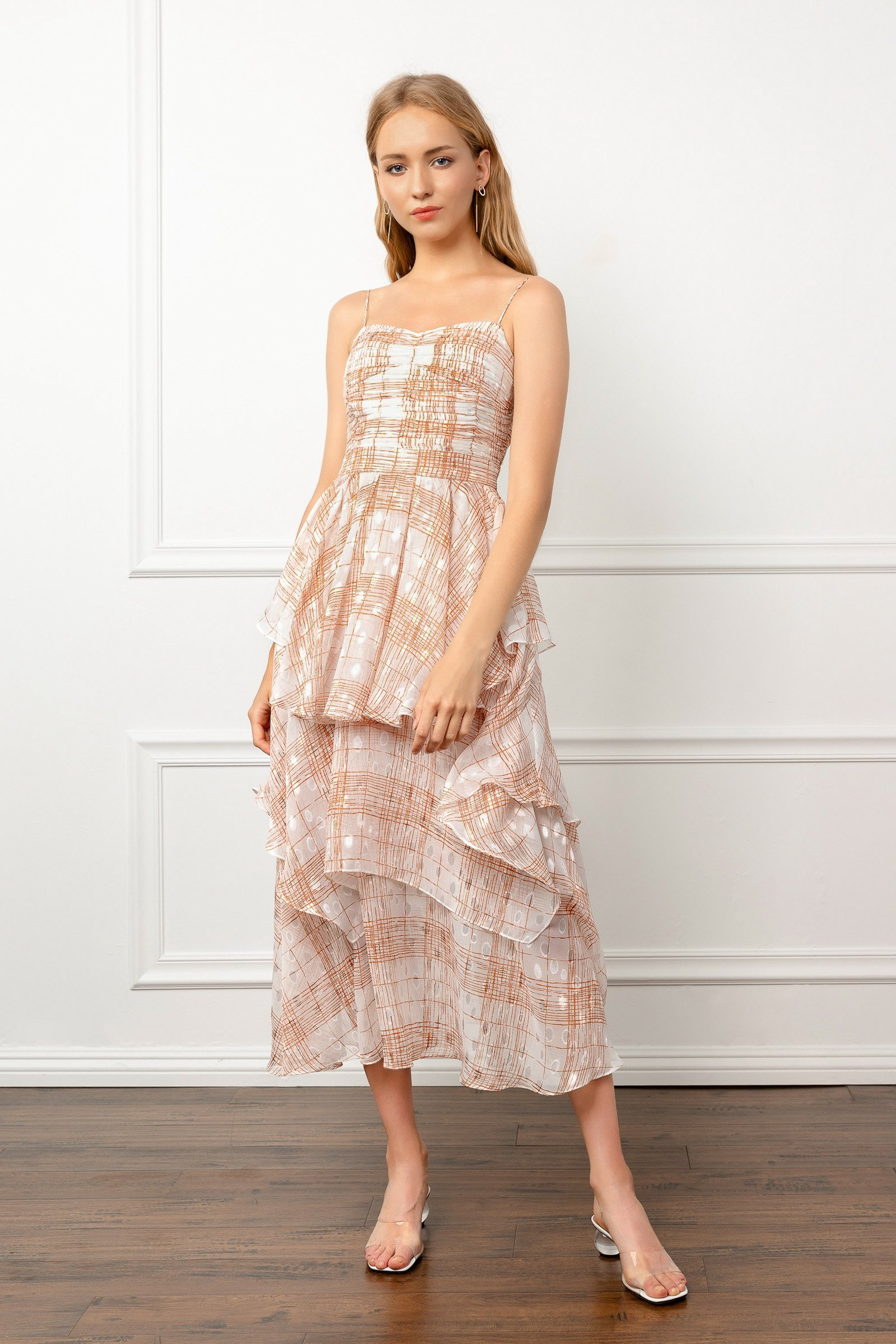 Image of SLEEVELESS LUX DRESS