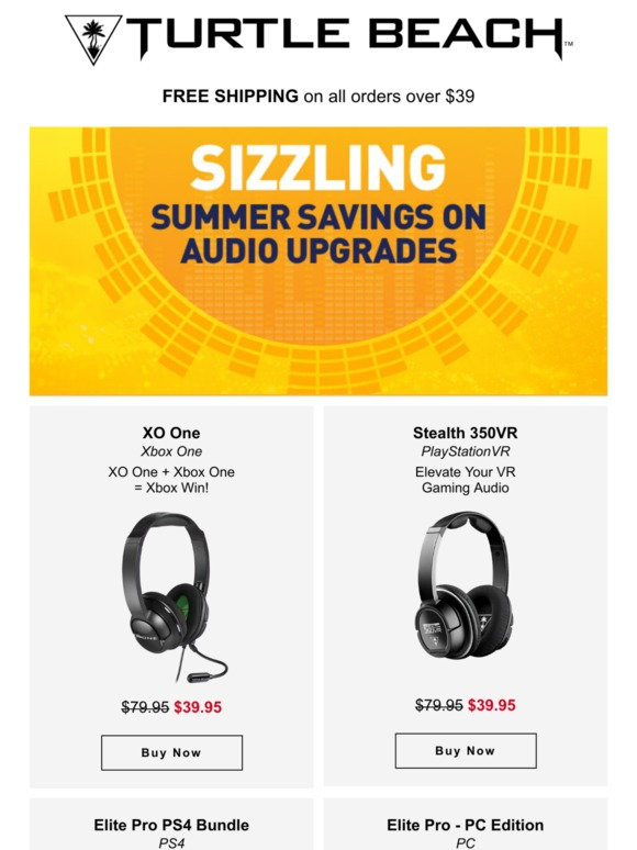 5ed110705ef Turtle Beach: Hear This, Summer Savings Start Now! | Milled