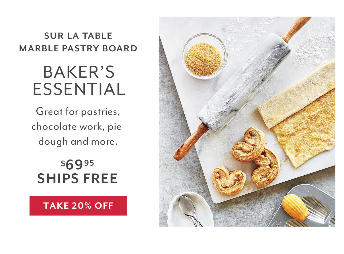 Bakeware - Marble Pastry Board