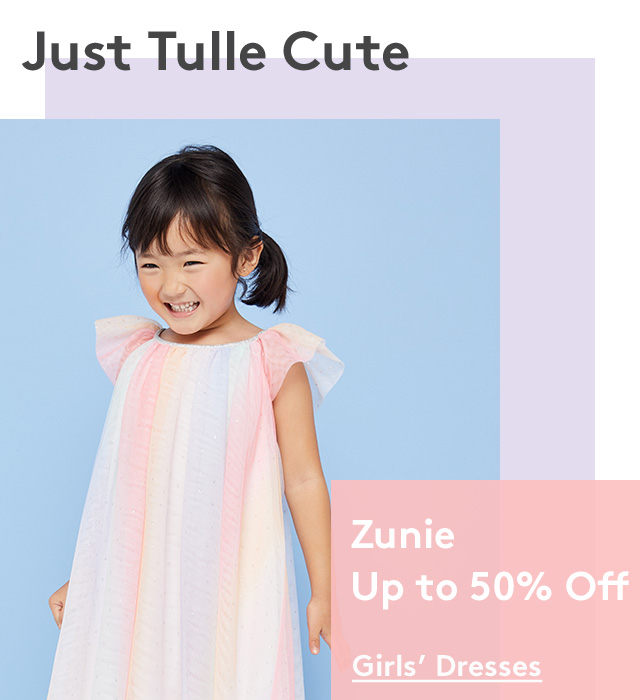 Just Tulle Cute | Zunie Up to 50% Off | Girls' Dresses