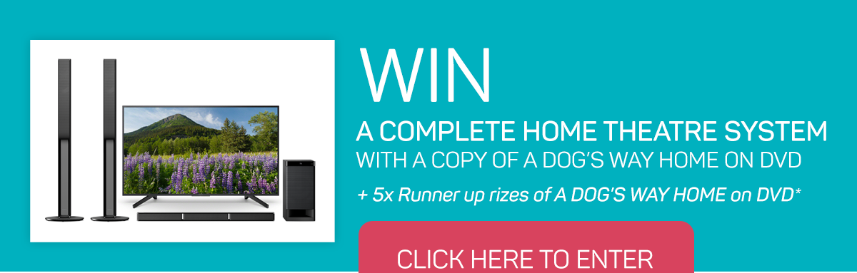 WIN a complete home theatre system