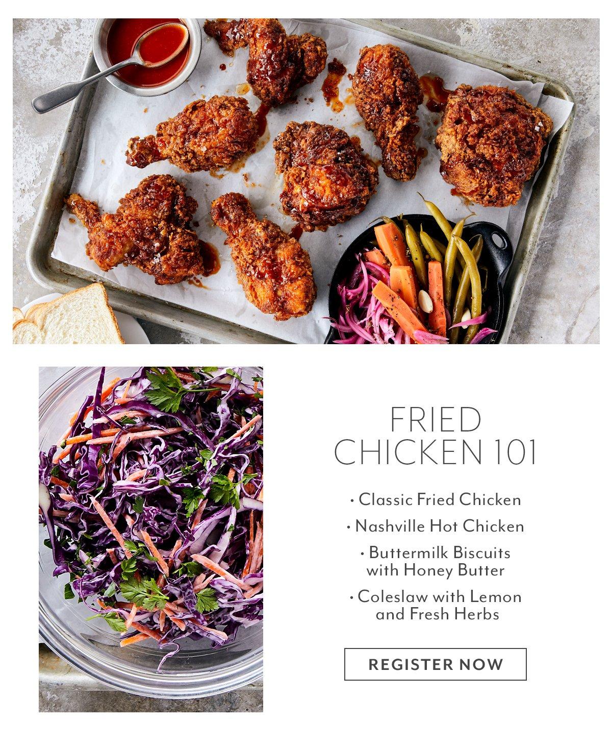 Class - Fried Chicken 101
