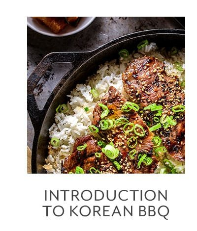 Class - Introduction to Korean BBQ