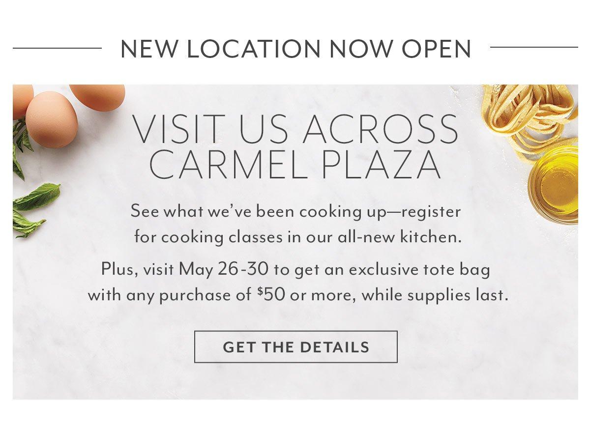 Carmel Store Relocation