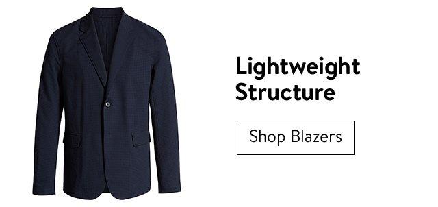 Men's lightweight blazers.