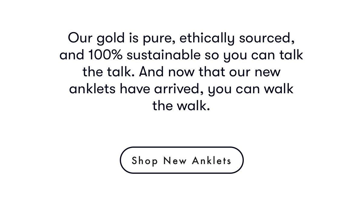 Shop new anklets