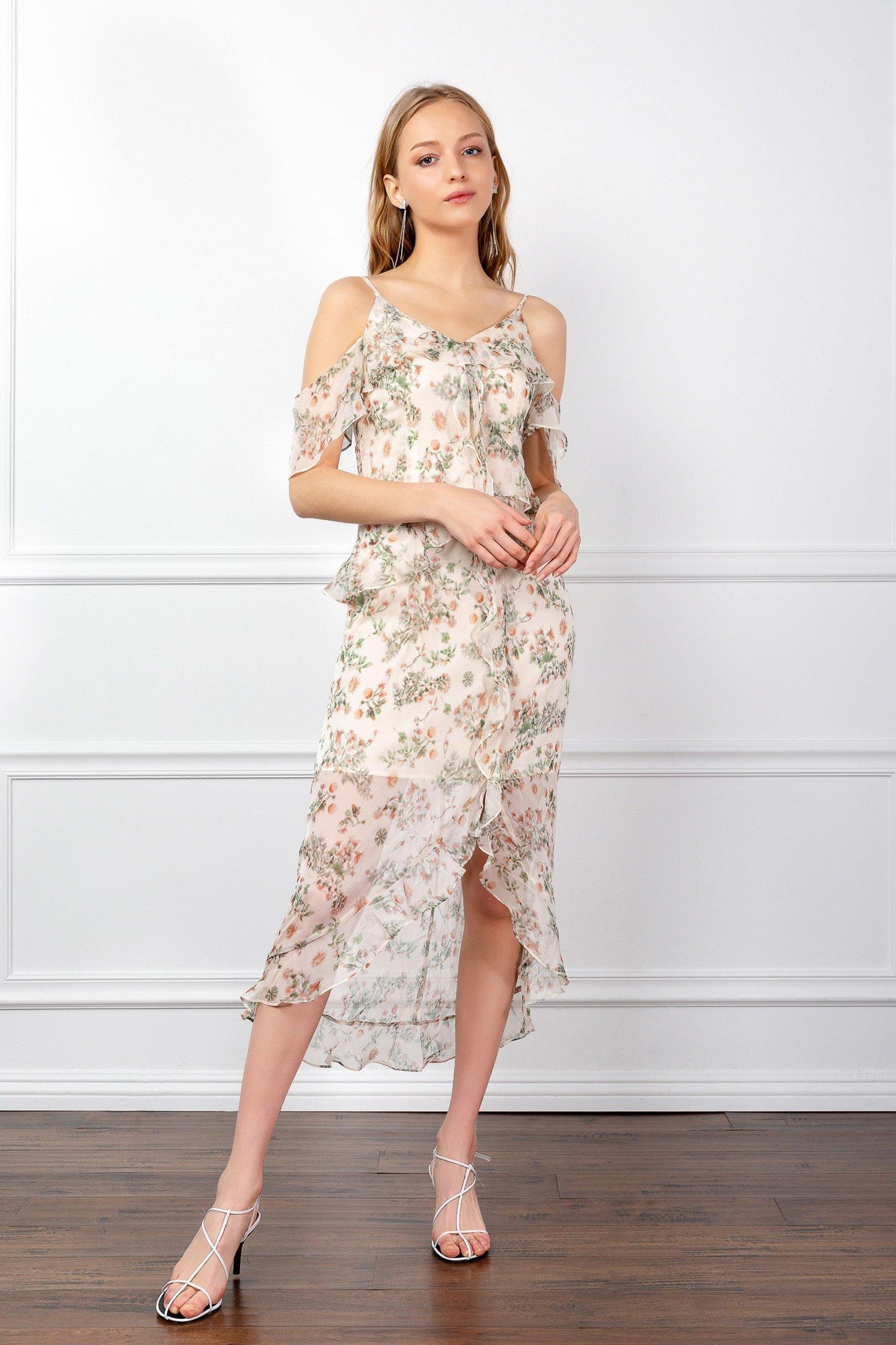 Image of HAZEL FLORAL DRESS