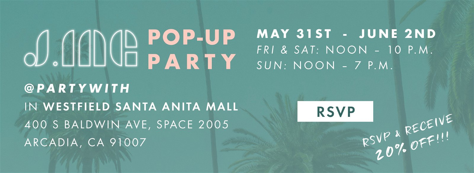 JING PopUp Party