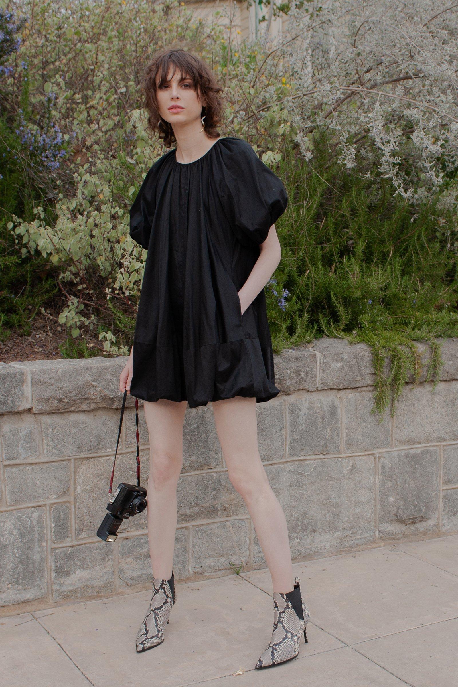 Image of  BLACK NADINE DRESS