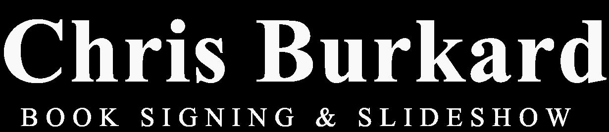Chris Burkard BOOK SIGNING & SLIDESHOW
