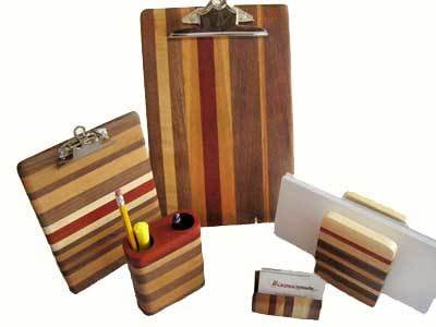 Wooden Desk Set on WisconsinMade Artisan Collective