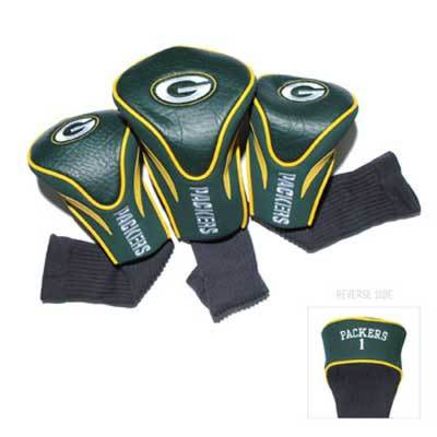 Green Bay Packers Golf Headcovers - 3 Pack on WisconsinMade Artisan Collective