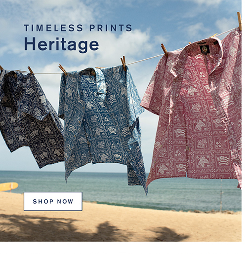 Timeless Prints Heritage. Shop Now