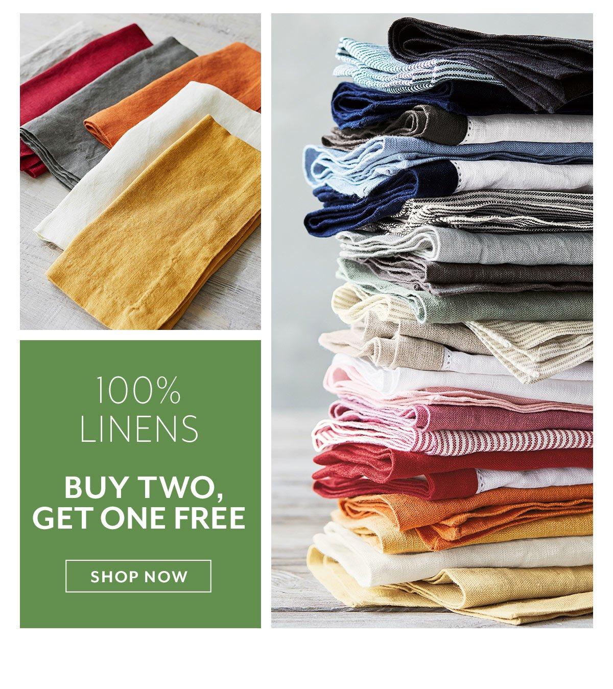 100% Linens
